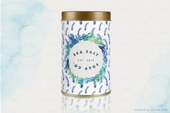 Ocean Life Watercolor Illustrations Product Image 3