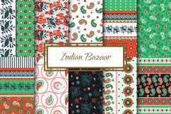 Indian Bazaar Seamless Patterns Product Image 2