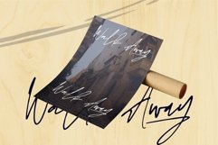 Web Font Anggilla - A Stylish Signature Font Product Image 4