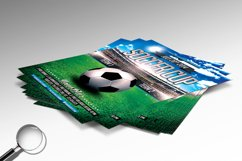 Soccer Cup | Modern Flyer Template Product Image 7