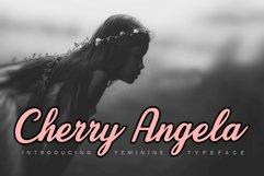 Cherry Angela Script Product Image 1