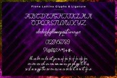 Monoline Handwritten - Fiona Lattina Product Image 6