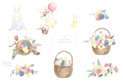 EASTER clipart. Watercolor set Product Image 6