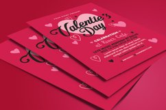 Valentines Day Flyer Product Image 4
