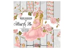 Baby Girl Paper Pack Pregnant Paper Pack Pregnancy Product Image 1