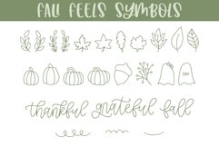 Fall Feels, Fall Doodle Font Product Image 3