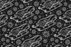 Winter pattern with sledge Product Image 4