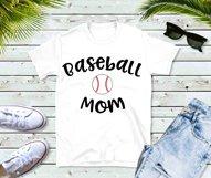 Baseball Mom SVG - Design 2 - Sports Mom SVG file Product Image 2