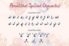 Amalitha - Layered Script Font Product Image 6