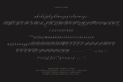 Rhapsody | Calligraphy Script Product Image 4