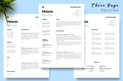 Nurse Resume CV Template for Word & Pages Melanie Stevens Product Image 4