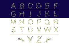 LAVENDER-TIME multicolor font Product Image 2
