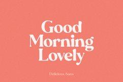Delicious Sans Font Product Image 6