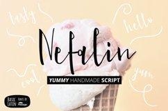 Nefalin Yummy Script Font Product Image 1