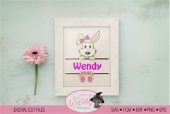 Easter Name banner, Easter bunny banner, Product Image 3