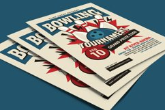 Bowling Tournament Flyer Product Image 4