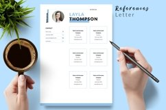 Simple Resume CV Template for Word & Pages Layla Thompson Product Image 6