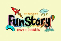 Fun Story Font Product Image 1