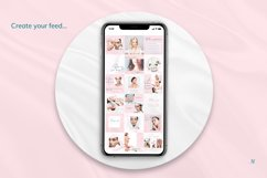 Beauty Pink Instagram Canva Tempates Post & Highlights Product Image 4