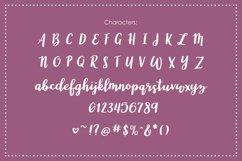 Wonderland, a modern calligraphy font Product Image 3