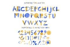 Summertime bitmap color font Product Image 6