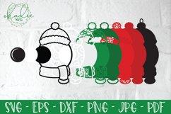 3D Santa Cam Ornament SVG, Christmas Camera Bundle, Elf DXF Product Image 5
