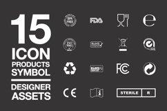 Designer Assets Vol1 Icon/Symbol EPS, PDF, AI Product Image 1