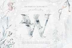 Winter Watercolors & Alphabets Product Image 2