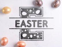 Easter Split Monogram Font Product Image 6