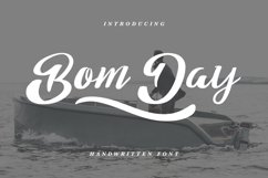 Bom Day Font Product Image 1