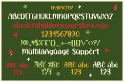 Happy Christmas Party - Xmas Font Product Image 3