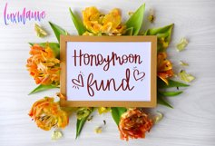 Honeymoon Fund SVG, DXF, PNG, EPS File Cricut Silhouette Product Image 4
