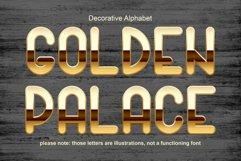 Golden palace - metallic font Product Image 1