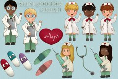 DoctorClipart Medical Clipart Hospital Clipart Nurse Graphic Product Image 1