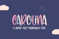 Carolina Font Product Image 1