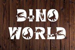Dino World - Dinosaur Font Product Image 5