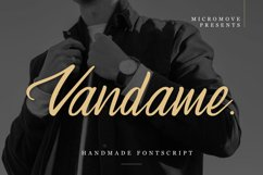 Vandame - Fontscript Product Image 2