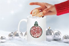 Christmas SVG Multi Layer Ornament | Mandala SVG 3D Layered Product Image 3