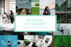 Mint   Instagram  stories templates Product Image 6