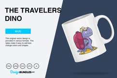 The Travelers Dino Vector Illustration Product Image 2