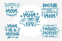 Wild mom- A swashes handritten font with doodle Product Image 5