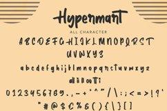 Hypermart | Handwritten Display Font Product Image 5