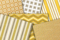 Gold Digital Paper Pack Product Image 4
