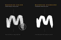 Maverick Brush and SVG Font Product Image 3