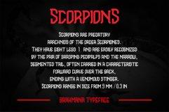 Brahmana - Modern Gothic Serif Sports Typeface Product Image 3
