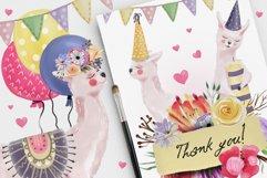 Floral Birthday Llamas Product Image 5