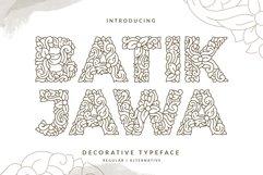 Batik Jawa Decorative Victorian Handwritten Product Image 1