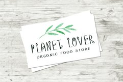 LEAFY VALLEY - Hand-drawn Font DUO Product Image 3