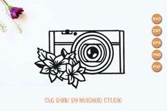 Mirrorless Camera svg, Wedding Photography, Camera cut file Product Image 2