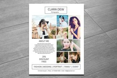 Photography Flyer Template, Photoshop Template Product Image 2